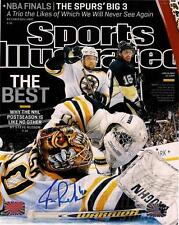 Tuukka Rask Boston Bruins Signed autographed Sports Illustrated Cover 8x10