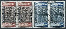 1952 ITALIA USATO MODENA E PARMA COPPIA - ED306