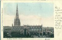 POSTCARD BRISTOL St Mary Redcliffe Church