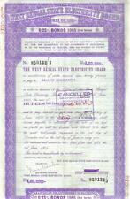 India West Bengal State Board 6.25 1985 1.00.000Rs bond
