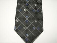 New Little Boy Zipper Tie Black Silk