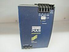 PULS PS21P POWER SUPPLY QS20.361 AC 100-240V DC110-300V
