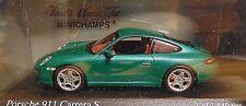 Porsche 911 carrera s * verde 2004 * 1:43 Minichamps 400063022