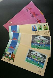 10th Men Hockey World Cup 2002 Malaysia Games Sport (complete set FDC) *Rare