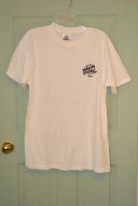 Planet Hollywood MAUI Sz M NWOT Vtg 1991 Made in USA White T-Shirt