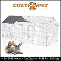 Cozy Pet Rabbit Run Play Pen Guinea Pig Playpen Chicken Puppy Cage Hutch RR10