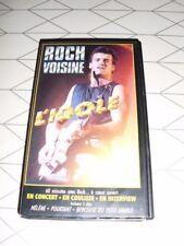 ROCH VOISINE VHS L'Idole  Concert Backstage