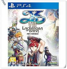 PS4 伊蘇VIII: 丹娜的隕涕日 中文版 Ys VIII Lacrimosa of Dana CHINESE SONY RPG Games Falcom