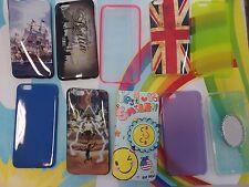 custodia in silicone ANTIURTO slim TPU e PVC cover per iPhone 6 plus protezione
