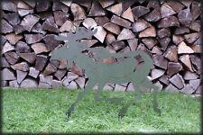 Elch Edelrost / Gartendeko / Rostfigur