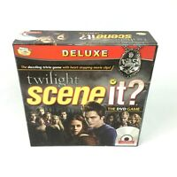 Scene It Twilight Saga Board Game Deluxe Gift TV DVD Film Collectible