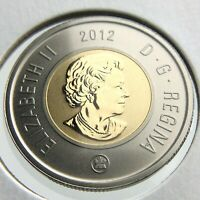 2012 Specimen Canada 2 Dollar Toonie Uncirculated Canadian Coin Two Dollar P611