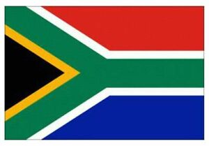 South Africa African Large Flag Football Olympics Cricket Fan Rugby Sports 2pc