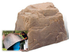 DekoRRa Fake Rock 104AB Autumn Bluff - Cover Well Tanks-Electric Box- Sizing Tip