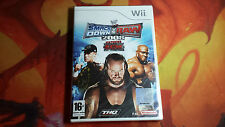Nintendo Wii PAL version WWE SmackDown vs. Raw 2008