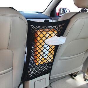Car Truck Front Seat Cargo Storage Holder Elastic String Hook Catcher Net Parts