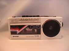 SHARP Qt-15HW Qt15 Radio Cassette Recorder VTG Retro