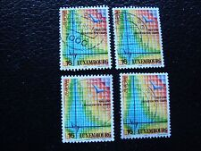 LUXEMBOURG - timbre yvert et tellier n° 1318 x4 obl (A30) stamp