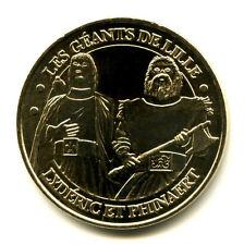 59 LILLE Les géants, 2007, Monnaie de Paris