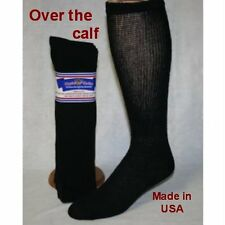 Physicians choice Over the Calf Black 13-15 Diabetic Socks 6 Pr.