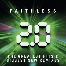 FAITHLESS 2.0 THE GREATEST HITS & BIGGEST NEW REMIXES 2CD ALBUM SET (2015)
