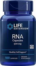 Life Extension RNA Ribonukleinsäure 500 mg, 100 Kapseln, VERSAND WELTWEIT