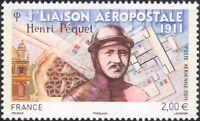 France 2011 Airmail 100th/Henri Pequet/Pilot/Planes/Aircraft/Flight 1v (n45288)