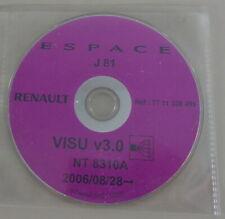 Eléctrico Diagramas de Cableado CD Renault Espace J81 Año Modelo Desde 08/2006