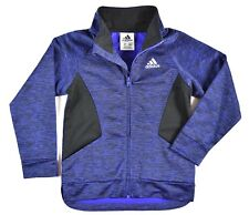 ADIDAS Purple & Black Digital Print Track Jacket Youth Size 4T