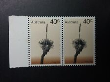 1978 MINT 40c Trees GRASS TREE Joined Pair with tab will combine post