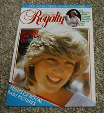 Royalty Monthly Magazine Volume 2 No 11 May 1983. Princess Diana