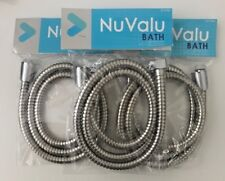 3 X 48'' Inch Long Bathroom Flexible Replacement Shower Hose-Stainless Steel