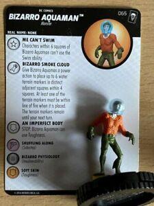 "DC HeroClix ""Joker's Wild""#65 Bizarro Aquaman - Chase"