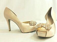 Nine West Cassedi2 Shoes - Champagne - Size 8W US (6 UK) - Thames Hospice