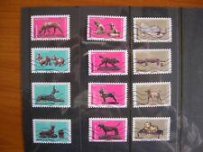 Série complète Chiens 2018, 12 timbres