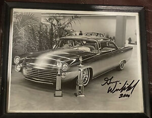 Gene Winfield Signed Photograph Framed 2000