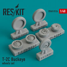 T-2C Buckeye wheels set (Resin Upgrade set) 1/48 ResKit RS48-0124