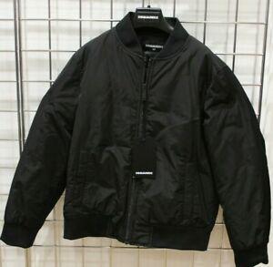 New Boys Kids DSquared 2 ICON Bomber jacket 100% Polyester Original Age 10 - 16