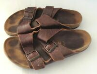 Birkenstock Leather Sandals Shoes Womens Size 42 (US 11-11.5)  Made in Germany