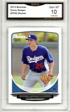 2013 BOWMAN COREY SEAGER ROOKIE BASEBALL CARD LOS ANGELES DODGERS