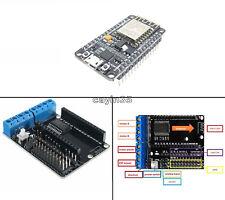 Escudo de controlador nodemcu ESP-12E L293D +ESP8266 CP2102 Internet de las cosas F/Arduino