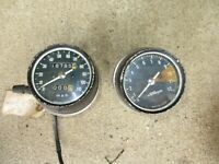 72 73 74 Honda CB350F CB 350 F Four Supersport Gauges Speedometer TACHOMETER OEM