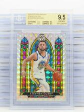 2019-20 Mosaic Stephen Curry Stained Glass Prizm #1 Bgs 9.5 True Gem Mint D39