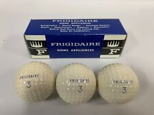 """3"" NEW Vtg Frigidaire Home Appliances Advertising Cadwell Cover Golf Balls (A4)"