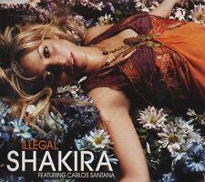 SHAKIRA feat CARLOS SANTANA Illegal   2 TRACK CD   NEW - NOT SEALED