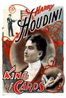 """Harry Houdini - King of Cards Mini Poster 12"""" x 18"""""""