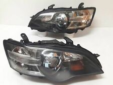 JDM Subaru LIBERTY BPE BP5 BL5 STI OEM HID Head Headlights LAMP Blue Ring LEGACY