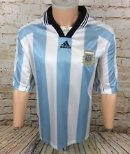 ARGENTINE 1998/2000 Home Football Shirt Jersey Adidas Sz XL/Extra Large Homme