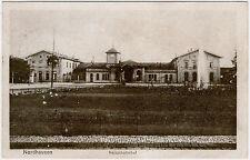 Nordhausen - Hauptbahnhof, s./w. Ansichtskarte gelaufen 1921