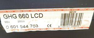 Bosch Heißluftgebläse - GHG 660 LCD in OVP (Koffer)
